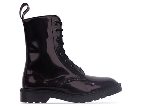 Dr. Martens Made In England In Purple Arcadia Langston