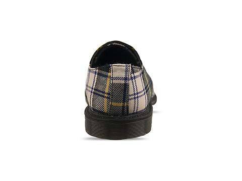 Dr. Martens Made In England In Green Gordon Dress Tartan Mie 1461