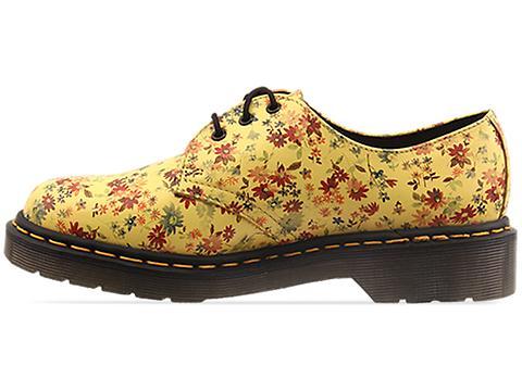 Dr. Martens In Sun Yellow Little Flowers 1461