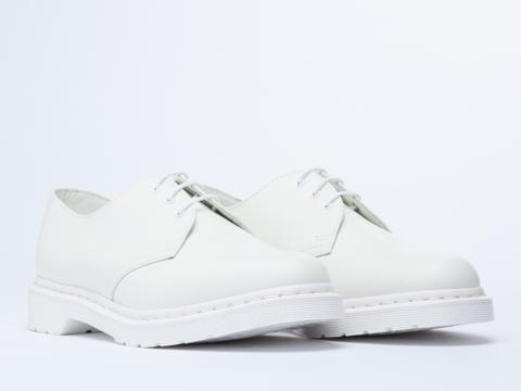 Dr. Martens In White Monochrome 1461 Mens
