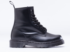 Dr. Martens In Black Monochrome 8 Eye Boot
