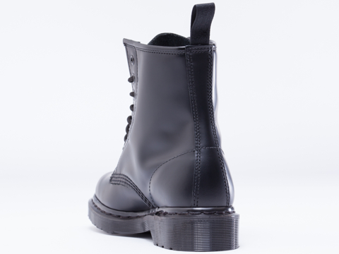 Dr. Martens In Black Monochrome 8 Eye Boot