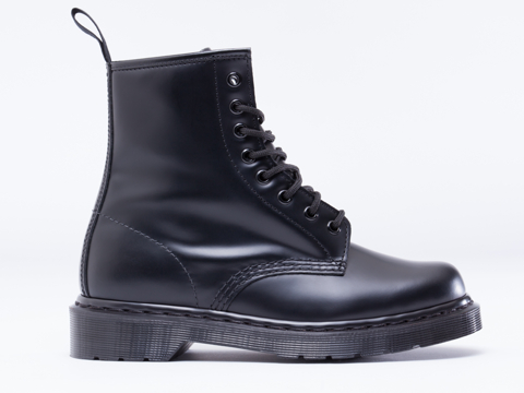 Dr. Martens In Black Monochrome 8 Eye Boot Mens