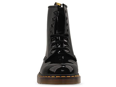 Dr. Martens In Black Patent 8 Eye Boot Mens