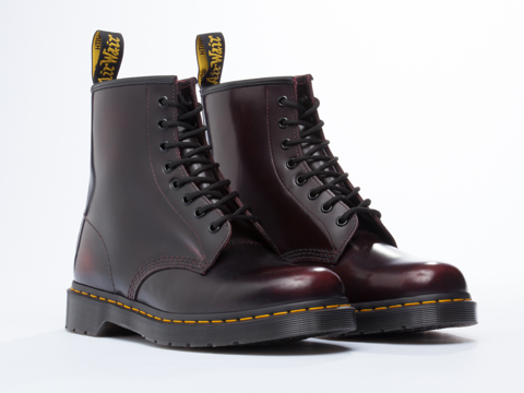 Dr. Martens In Cherry Red Arcadia 8 Eye Boot Mens