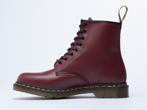 Dr. Martens In Cherry Red Rouge 8 Eye Boot Mens