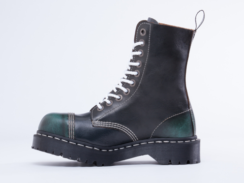 Dr. Martens In Green Blue 8761 BXB Boot