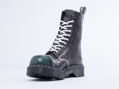 Dr. Martens In Green Blue 8761 BXB Boot Mens