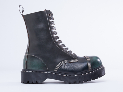 Dr. Martens 8761 BXB Boot Mens in Cherry Red Blue at Solestruck.com