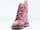 Dr. Martens In Cherry Red Floral Canvas Beckett Womens