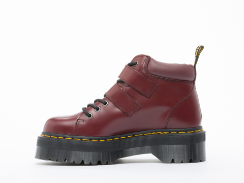 Dr. Martens In Cherry Red Rouge Polished Bryony