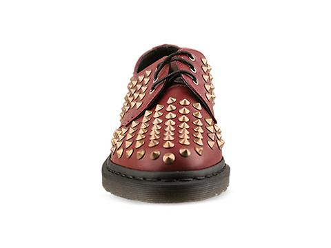 Dr. Martens In Cherry Red Rouge Harlen Mens