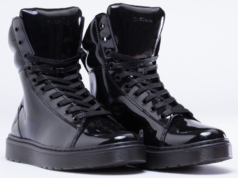 Dr. Martens In Black Patent Mix