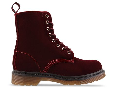 Dr. Martens In Cherry Red Rouge Page