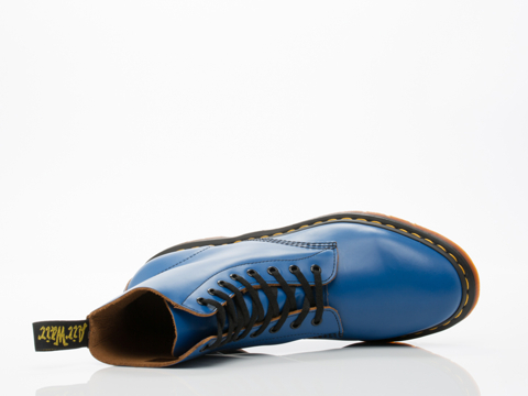 Dr. Martens In Blue Vintage Smooth Pascal Mens