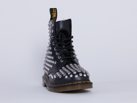Dr. Martens In Black Spike Mens
