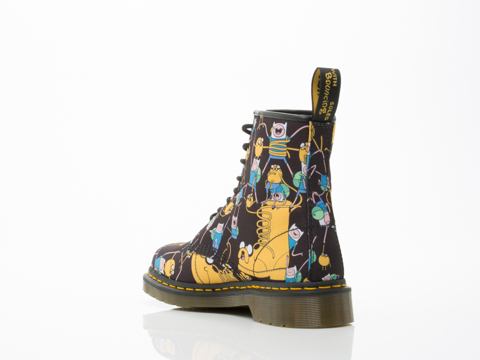 Dr. Martens X Adventure Time In Multi Castel Mens