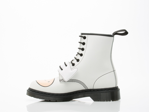 Dr. Martens X Adventure Time In White Finn Boot Mens
