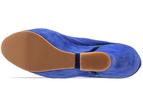 DV8 by Dolce Vita In Electric Blue Suede Cosette
