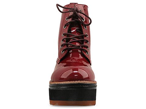 DV8 by Dolce Vita In Burgundy Patent Stella Figgins