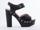 Ego and Greed In Black Nubuck Leather Carleen Hi