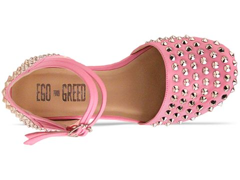 Ego and Greed In Pink Silver She Cray