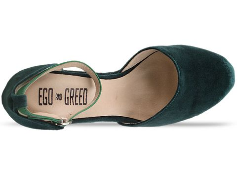 Ego and Greed In Emerald Velvet The Market