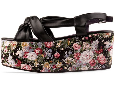 Ego and Greed In Black Floral Two Hundred