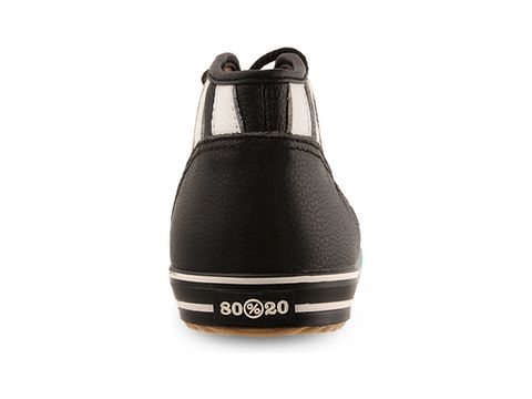 Eighty Twenty In Black Ami Japan Sneaker