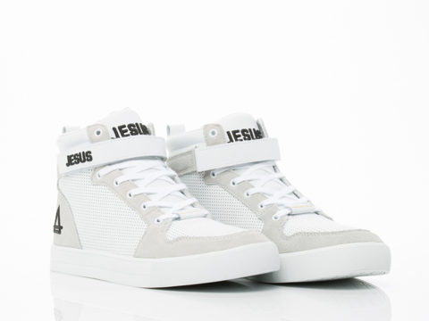 Eleven Paris In Jesus White Sneaker Mens