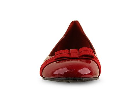 Enzo Angiolini In Red Patent Tiered