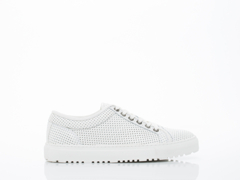 ETQ In Off White Perforated Low 1 Mens