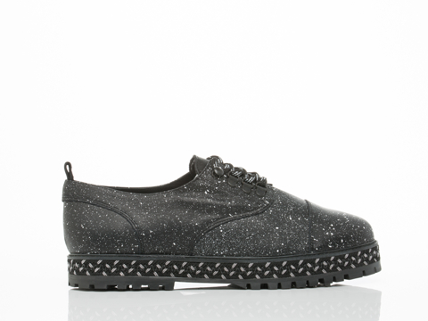 Farewell In Black Splatter Penny Mens