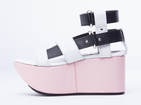 Feminine And Masculine In White Black Pink 1954X Resort Platform