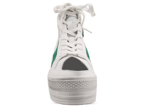 Fessura In White Green Double Star