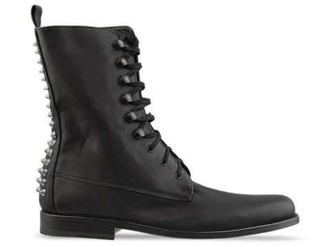 Frank Chaydez In Black Ben Studded Boot
