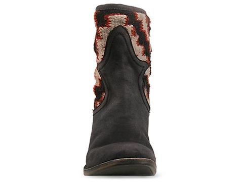 Freebird In Black Red Caballero Low