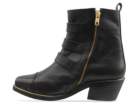 Friend Of Mine In Black Gold Eastwood Boot
