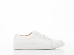 Frisur In Polished White Adam Sneaker Mens
