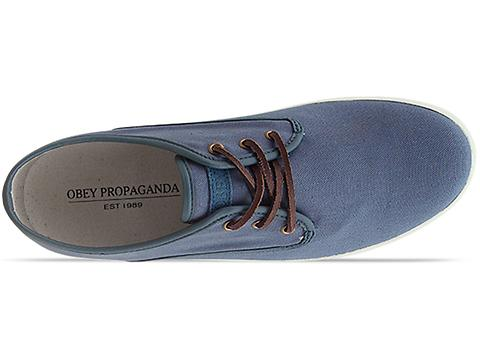 Generic Surplus X Obey Propaganda Wino Canvas in Hydro at Solestruck.