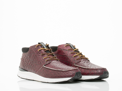 Gourmet In Maroon Croc White The 28 Lite MP