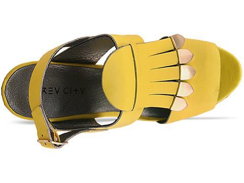 Grey City In Yellow Leo