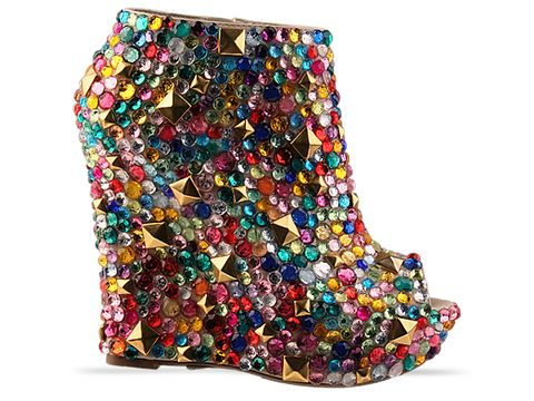 Haus of Price In Multi Gem Stud Mega Bootie