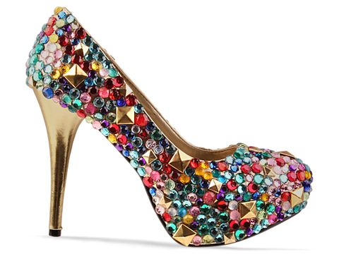 Haus of Price In Gold Multi Multi Gem Pump