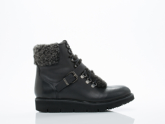 Hudson Shoes In Black Calf Adda