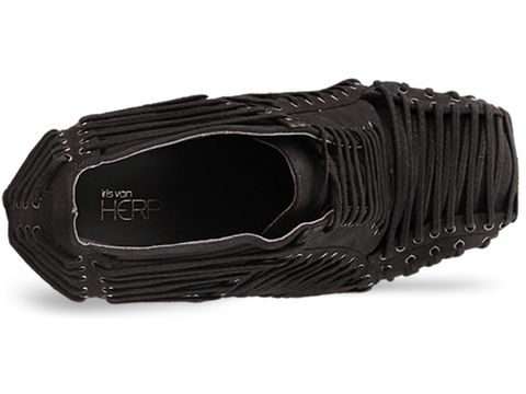 Iris Van Herpen X United Nude In Grey Iris Shoe Laced