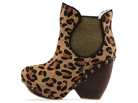 Irregular Choice In Leopard Collagen Kiss