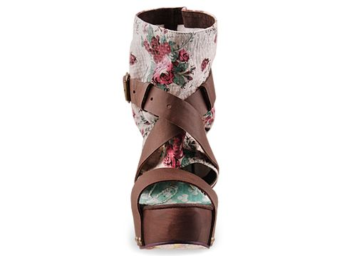 Irregular Choice In Floral Eat Me Whole