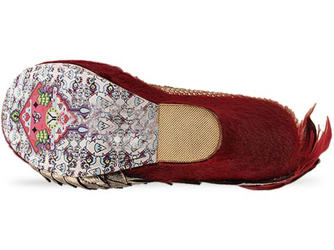 Irregular Choice In Red Mayhem