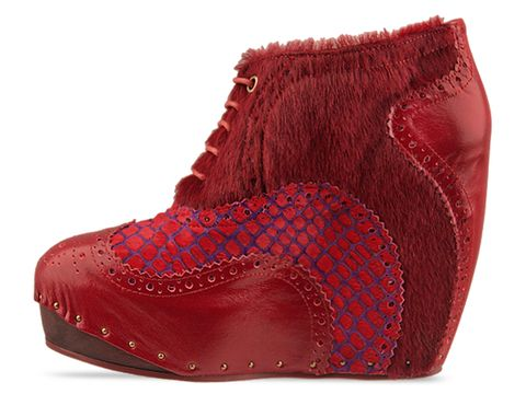 Irregular Choice In Red What An Angel